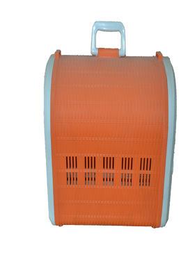 橙色塑料宠物外带篮