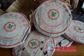 99年傣文生态青饼7542,干仓绝版老生茶,汤色栗红通透,汤水甘烈。