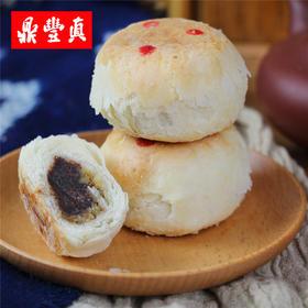 鼎丰真桂花豆沙饼300g 传统糕点东北特产点心零食食品美食小吃