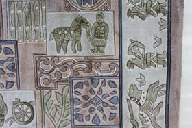 手工地毯(兵马俑)