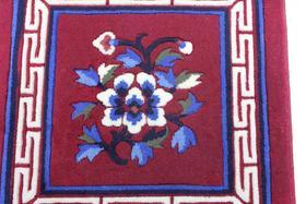 手工沙发垫(红色)