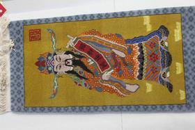 手工艺术挂毯(财神爷)