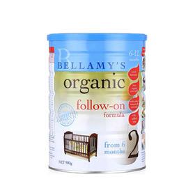 【2段】澳洲Bellamy's 贝拉米有机婴儿配方牛奶粉