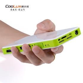 酷乐视Q6 微型投影仪家用高清手机投影仪智能便携WiFi迷你投影机
