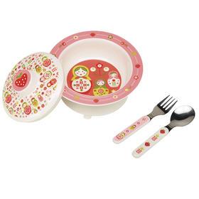 美国Sugarbooger精致吸盘碗餐具套装