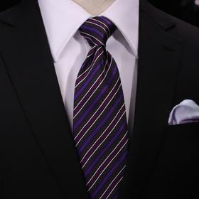 仕族Eabri男士团体领带真丝 职业领带商务结婚正装领带纯色