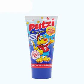 德国原装进口 Putzi普奇儿童牙膏原味加钙50ml/支