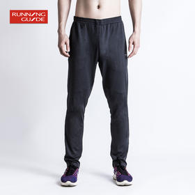 跑步指南6615 男款超轻针织运动长裤男款 - 超轻超柔修身版型