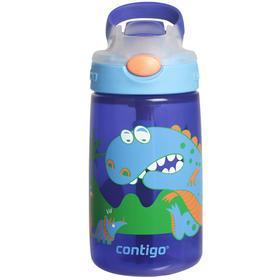 【美国】CONTIGO康迪克正品 儿童吸管杯  恐龙400ml