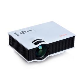 优丽可UC40+家用手机投影仪苹果安卓迷你 微型便携高清电脑投影机