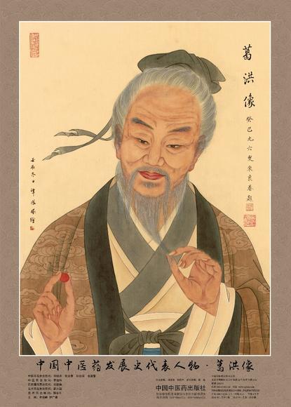 中国中医药发展史代表人物•葛洪...