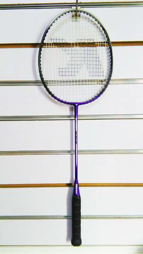 紫色羽毛球拍