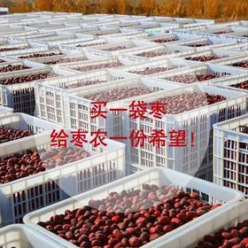 【援疆助农】只为帮助新疆滞销的枣农 优质红枣买一送一!
