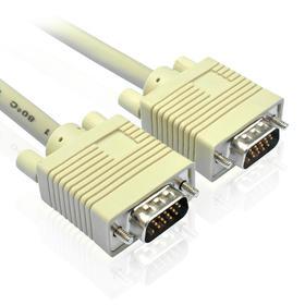 高清VGA线 电脑电视连接线 视频线 投影线 1.5米3米5米10米投影