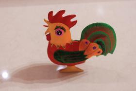 立体大公鸡
