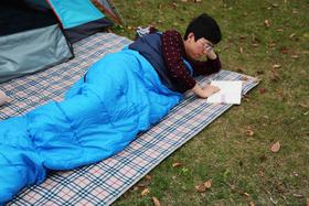 单人拼接睡袋