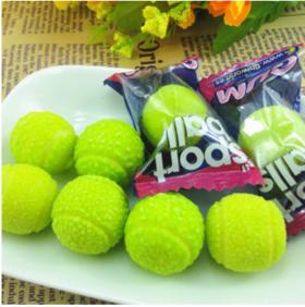 西班牙进口零食菲尼网球口香糖果