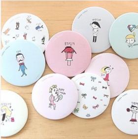 韩国LIVEWORK甜美可爱小镜子/化妆镜/随身镜 二代