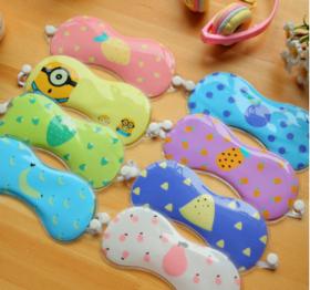 冰敷眼罩 卡通冰袋消肿冷冰眼袋睡眠缓解眼疲眼罩