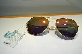 卡帝乐鳄鱼 男士太阳镜 墨镜男女士 太阳镜 驾车旅行偏光太阳镜 蛤蟆镜  黄色