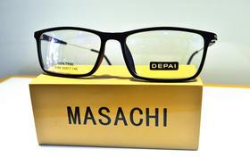 DEPAI 纯黑树脂全框镜 近视镜平光镜