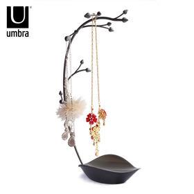 加拿大umbra 兰花造型时尚创意珠宝首饰架饰品收纳架 饰品展示架