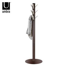 umbra 实木衣帽架落地衣架子卧室简易挂衣架创意衣服木衣架