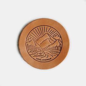 LOYAL STRICKLIN 阿拉巴马牛皮世家出品杯垫4件装|2色(美国)