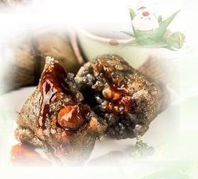 贞丰胖四娘粽子混合装6个鲜肉1个排骨3蛋黄、限量5份。售完即止!