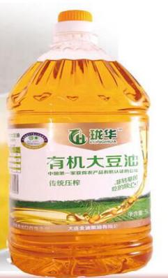 珑华有机非转基因大豆油5L 专注出口23年