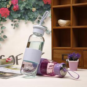 创意情侣杯超萌玻璃杯430ml(买一赠一)