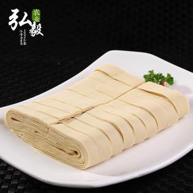 弘毅生态农场六不用 千张 豆腐皮 (3斤装)