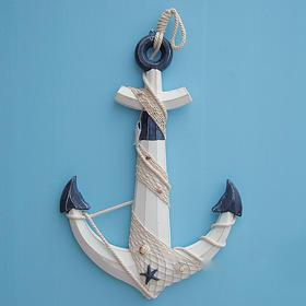 地中海风格船锚装饰