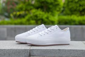 【马蓉同款】匡威增高小白鞋女款帆布鞋