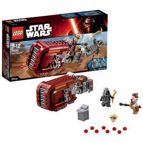 乐高星球大战Rey的飞车