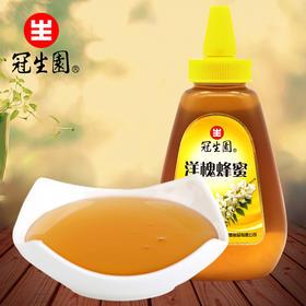 上海特产冠生园蜂蜜上海洋槐蜜天然蜂蜜428g 蜂制品冲调饮品