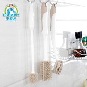 「厨房用刷3件套」长柄清洁刷软胶环保 刷锅/刷碟/刷杯 不伤表面