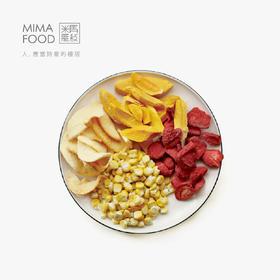 食味的初相 果蔬四君子 芒果干/苹果干/草莓干/玉米干 25gx4
