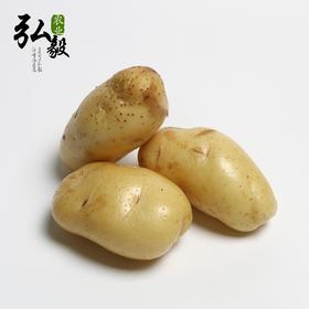 【弘毅生态农场】六不用 新鲜土豆 包邮 (4斤装)