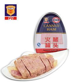 上海特产梅林异型火腿罐头340g 美味肉罐头食品野营速食罐头零食