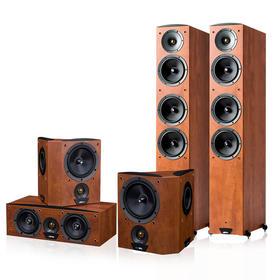 JAMO/尊宝 C607+C60CEN+C60SUR家庭影院音箱家用HIFI影院音响