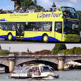 套餐:观光巴士+水上巴士2天通票
