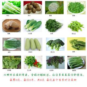 有机蔬菜 宅配 全家福月套餐