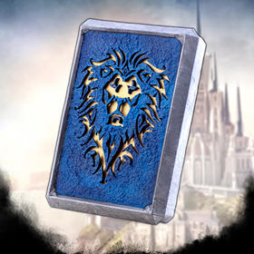 魔兽周边—联盟徽记双USB 2.0快速充电宝