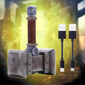 魔兽周边—毁灭之锤收纳器含充电线