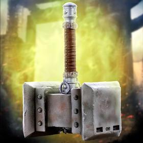 魔兽周边—毁灭之锤双USB 2.0快速充电宝