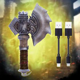 魔兽周边—杜隆坦之斧收纳器含充电线