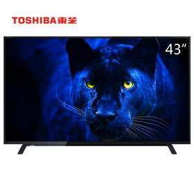 【东芝官方正品】东芝(TOSHIBA)43L1600C 43英寸 全高清蓝光LED液晶电视
