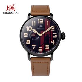 上海手表 全自动机械表抗战胜利70周年限量纪念款男表