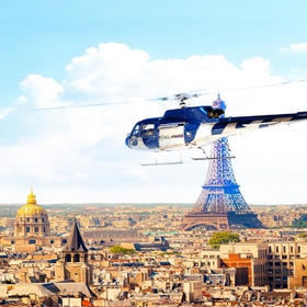 年末抢购!巴黎凡尔赛直升机观光之旅